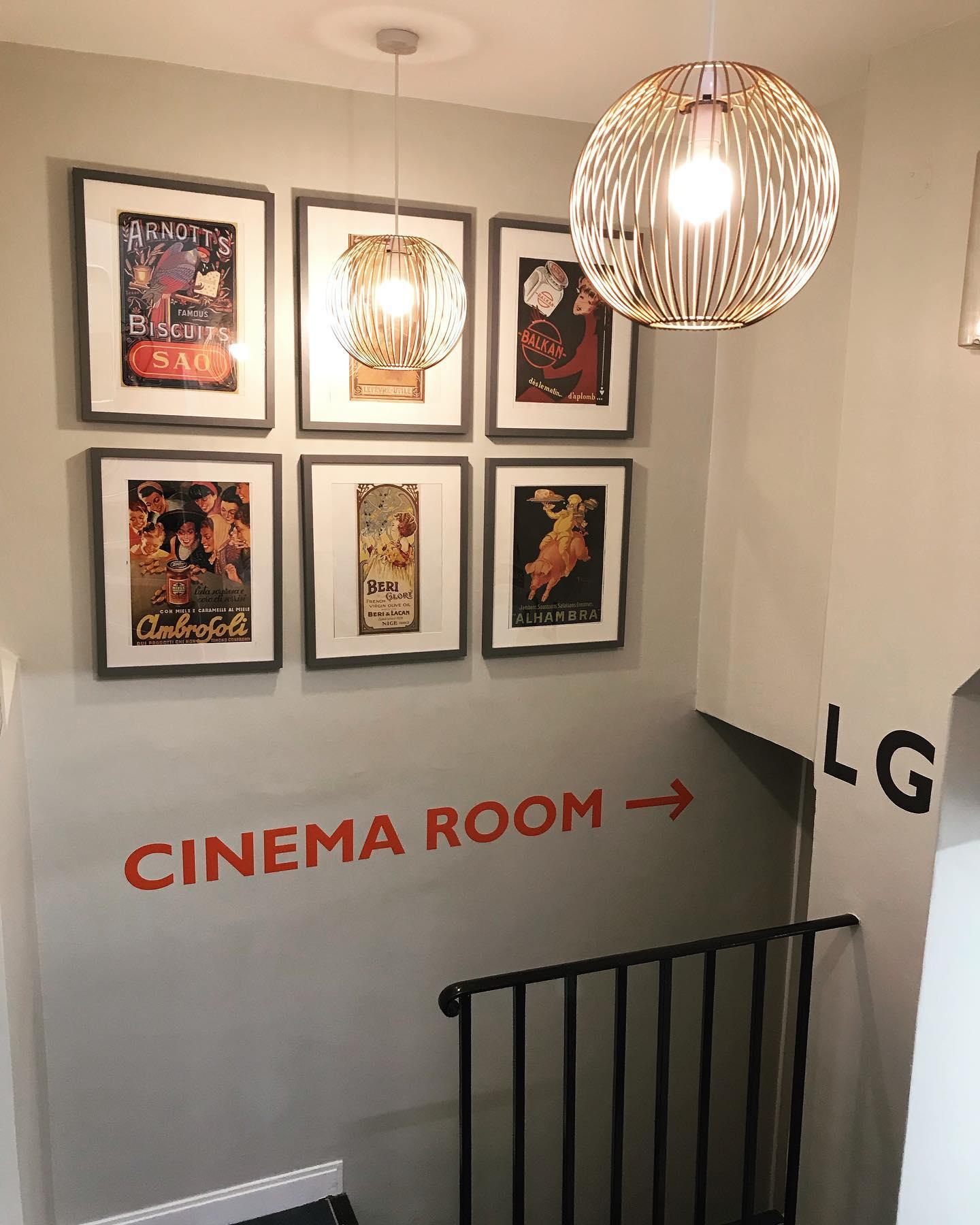 CINEMA ROOM 📽 . . .