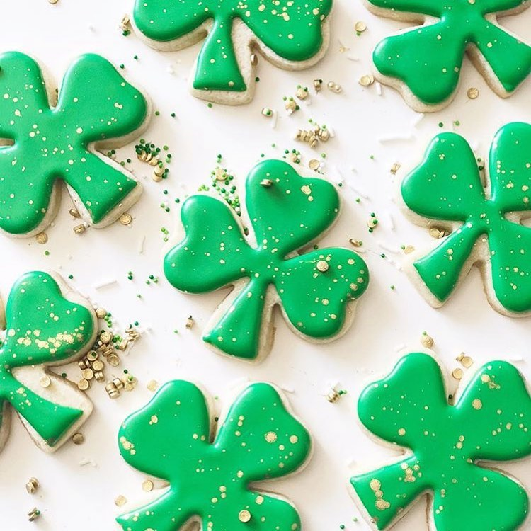 Wishing I had these in front of me! Happy stpatricksday