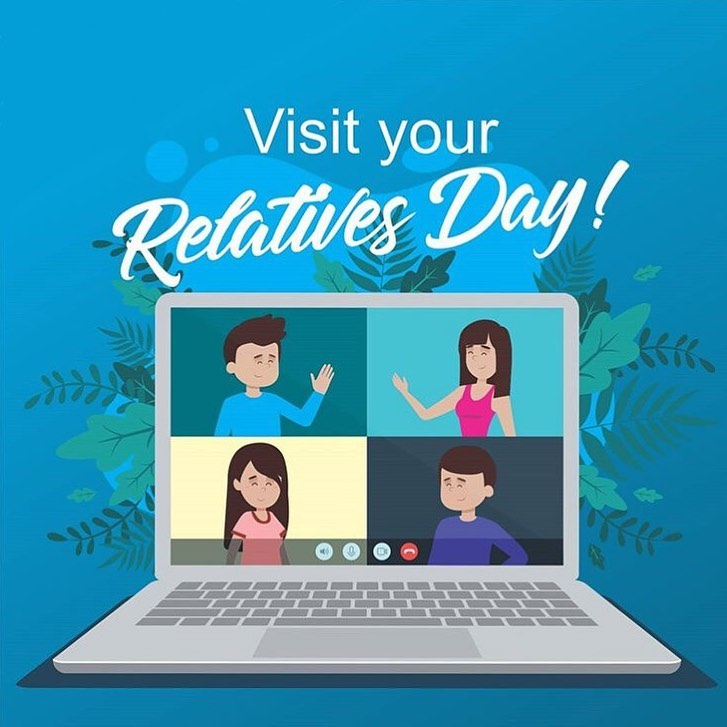 Not only is it the start of mentalhelathawarenessweek but today is also Visit Your Relatives Day  Whether you're able to see them in person (from a distance) or virtually, make sure to get in touch with a loved one today . . . visityourre