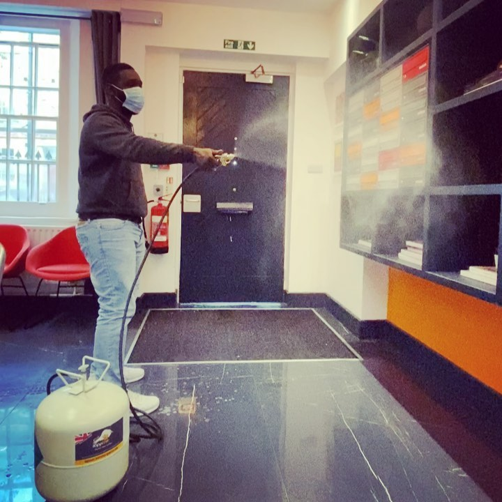Viruses 🦠 and germs 🦠 have no chance against the zapptizer sanitiser machine  Keeping everyone safe at Louise House ! . . . student studentlife sanitiser cleaning novirus studentsfacts students louisehouse