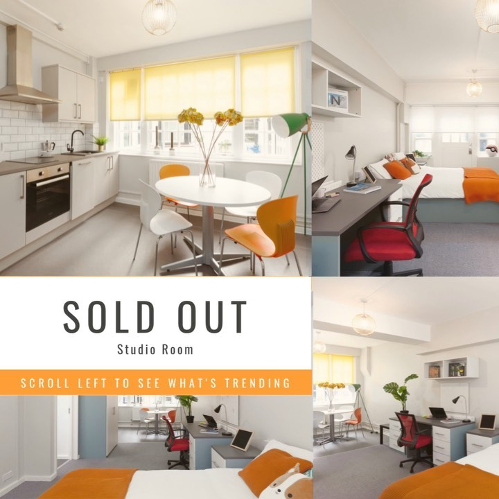 STUDIO Sold Out 🏻 but we still have some great offers for you for amazing price! Check out what's available by tapping the link in bio louisehouselondon london centrallondon studentaccomodationlondon studenthousing studentliving studen