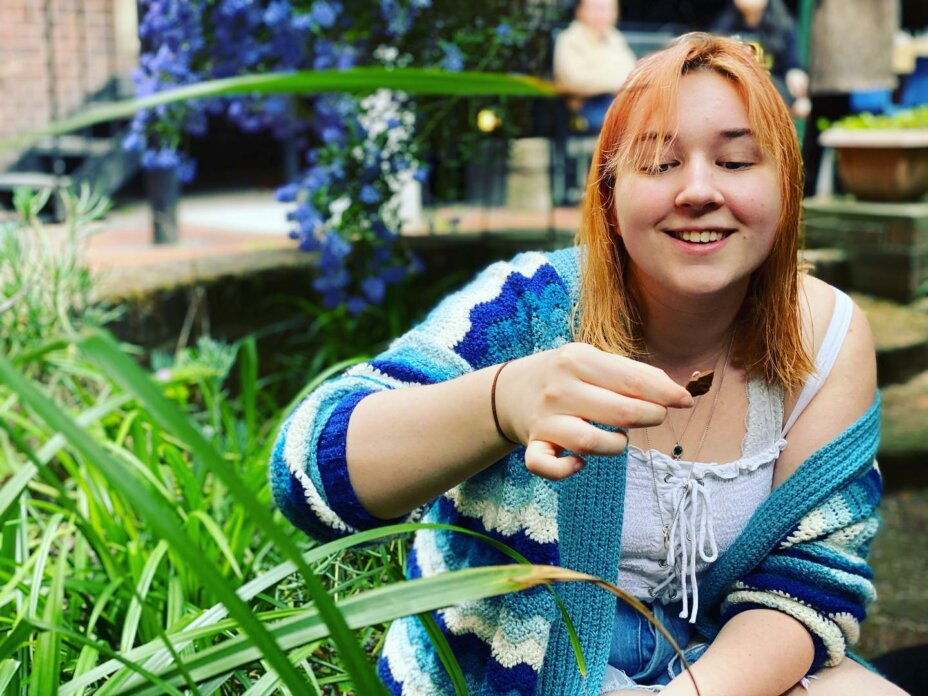 You can really find nature wherever you are and at Louise House the students took advantage of our little courtyard to relax and unwind. We planted wildflowers, ate cupcakes and had a good old laugh surrounded by greenery and our beautiful
