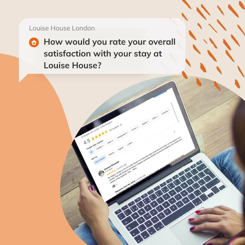 We value all feedback & we strive to makeyour stay with usas satisfying as possible.🥰Pleasetakeamoment to leave your comments, add rating or review LouiseHouseLondon from Google Maps